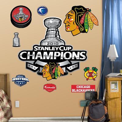 Chicago Blackhawks 2010 Champions Logo