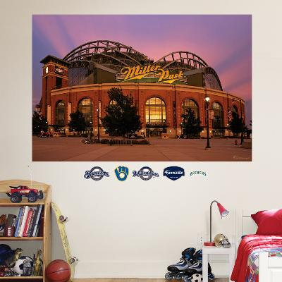 Milwaukee Brewers Miller Park Exterior Mural