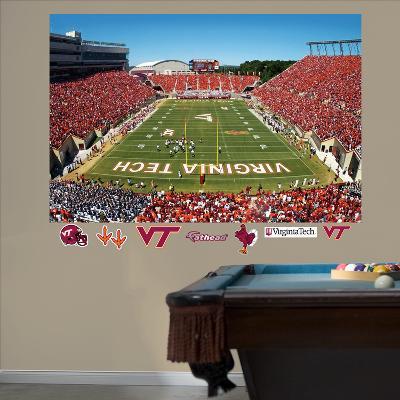 Virginia Tech Stadium Mural