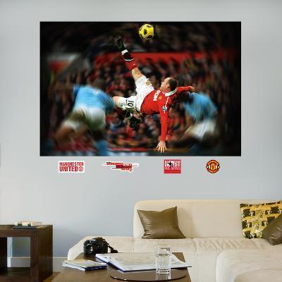 Wayne Rooney Bicycle Kick Mural