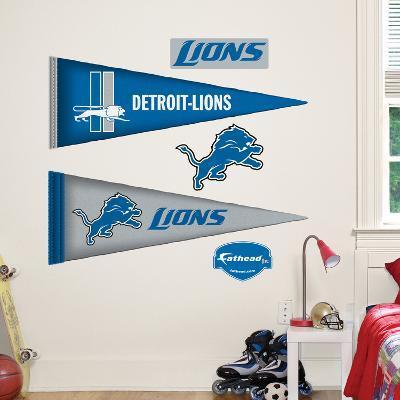 Detroit Lions NFL Pennant