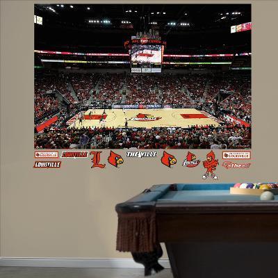 Louisville Basketball Mural
