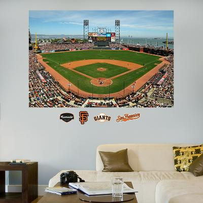 San Francisco Giants AT&T Park Stadium Mural