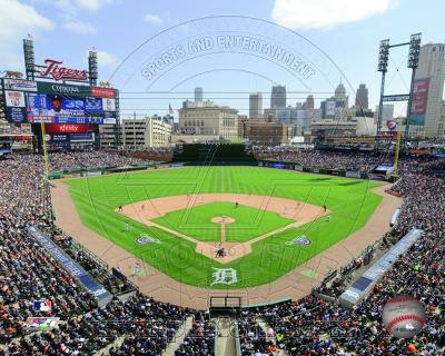 MLB Comerica Park 2012
