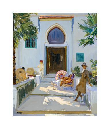 My Studio Door, Tangier