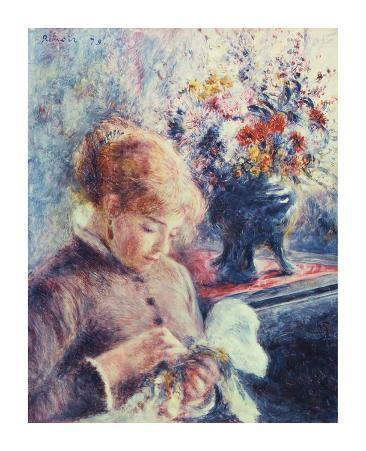 Girl and Petit Point