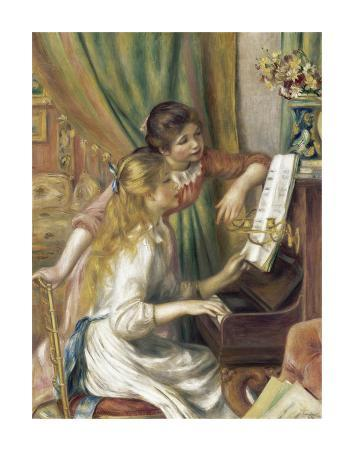 Girls at the Piano, 1892