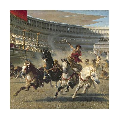 The Chariot Race, Detail