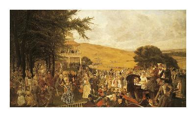 The Lawn at Goodwood, 1886
