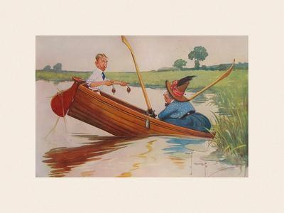 Steer Henry, You're the Coxswain!