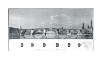 Design for a Stone Bridge