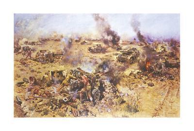 The Battle of Knightsbridge, 1942