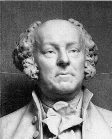 Bust of John Adams (Black and White Photo) Art Poster Print