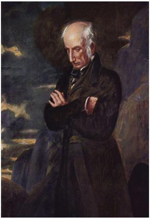 Benjamin Robert Haydon - Portrait of William Wordsworth, Art Poster Print
