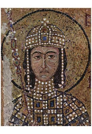 Byzantine Mosaizist to 1122 (Mosaics in the Hagia Sophia, Szene: Portrait of Alexios, son of Empero