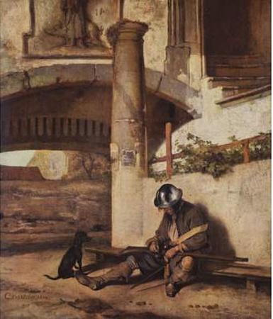 Carel Fabritius (The Torwache) Art Poster Print