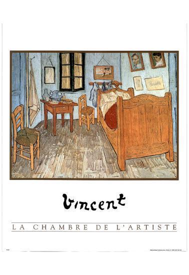 Chambre De L Artist Vincent Van Gogh Art Print Poster Prints At