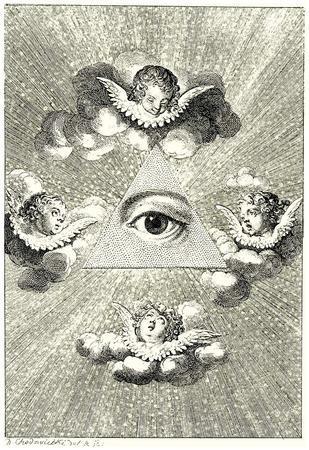 Daniel Nicholas Chodowiecki (Eye of Providence) Art Poster Print