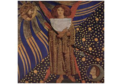 Dante Gabriel Rossetti (Dantis Amor) Art Poster Print