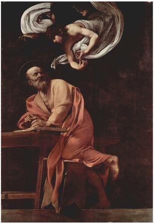 Michelangelo Caravaggio (Contarelli painting of the chapel in San Luigi di Francesi in Rome, Scene: