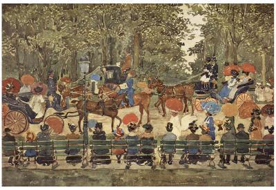 Maurice Brazil Prendergast (Central Park, New York) Art Poster Print