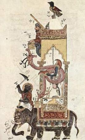 Syrian painter to 1315 (Book of insight into the construction of mechanical apparatus of the al-Jaz