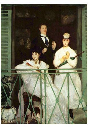 Edouard Manet (The balcony) Art Poster Print
