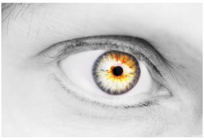 Eye (Close-Up) Art Poster Print