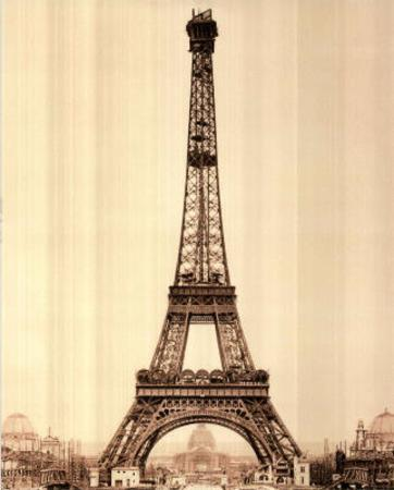 Eiffel Tower in Paris France Art Print POSTER quality