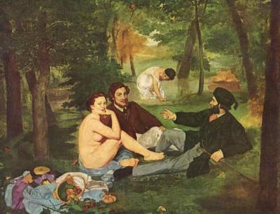 Edouard Manet (Breakfast) Art Poster Print
