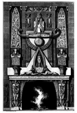 "Giovanni Battista Piranesi (Follow to ""Different types fireplaces and all other parts of the buildi"