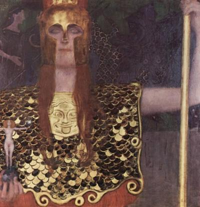 Gustav Klimt (Pallas Athene) Art Poster Print