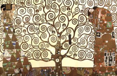 Gustav Klimt (The Tree of Life) Art Poster Print