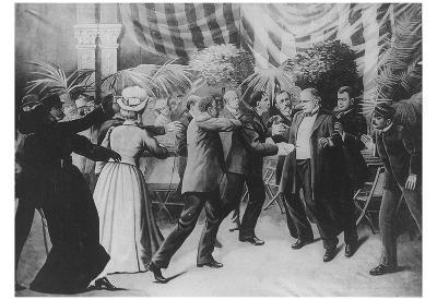 William McKinley (Assassination) Art Poster Print