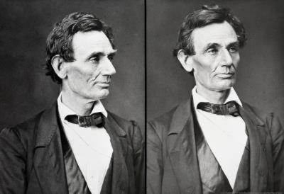 Abraham Lincoln Diptych Archival Photo Poster Print