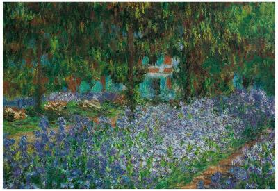 Claude Monet (Artist's Gardens at Giverny) Art Print Poster