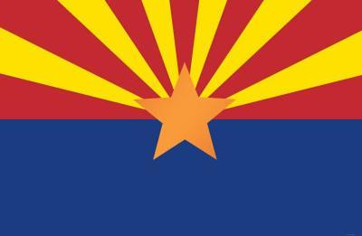 Arizona State Flag Poster Print