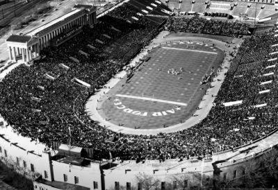 Army vs Air Force Football Archival Photo Sports Poster