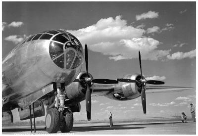 B-29 Archival Photo Poster