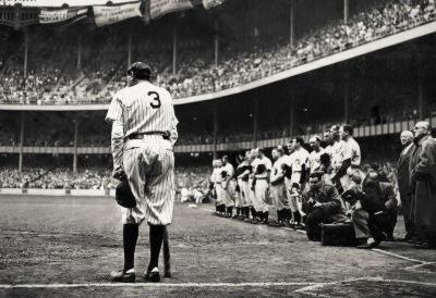 Babe Ruth Retirement Archival Photo Sports Poster Print