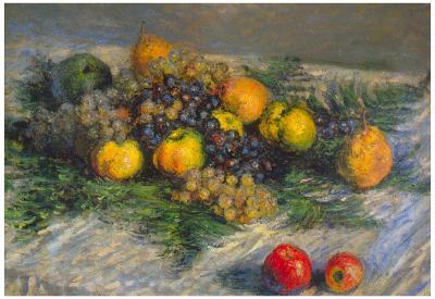 Claude Monet Still Life Art Print Poster