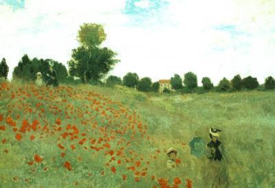 Claude Monet (Poppies) Art Poster Print