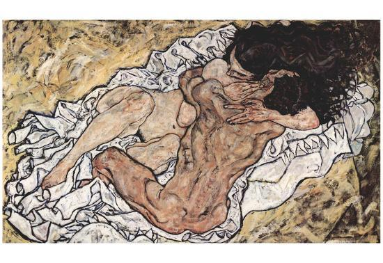 Image result for lovers egon schiele