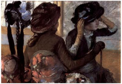 Edgar Degas The Milliner Art Print Poster