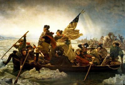Emanuel Leutze Washington Crossing the Delaware River Art Print Poster