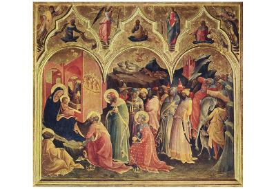Don Lorenzo Monaco (Adoration of the Magi) Art Poster Print