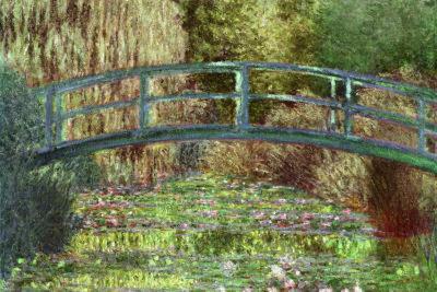 Claude Monet Le Pont Japonais Japanese Bridge Giverny Art Print Poster