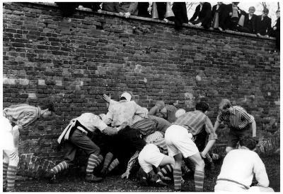 Eton College Wall Game 1969 Archival Photo Poster
