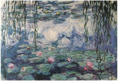 Claude Monet Nympheas Water Lilies Art Print Poster