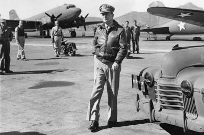 General Douglas MacArthur Airbase Archival Photo Poster Print